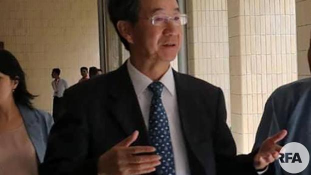 တရုတ္ႏိုင္ငံျခားေရးဌာနက အာရွေရးရာ အထူးသံတမန္ Sun Guoxiang ကို ၂၀၁၈ ဇူလိုုင္ ၁၂ ရက္ေန႔က ေတြ႕ရစဥ္