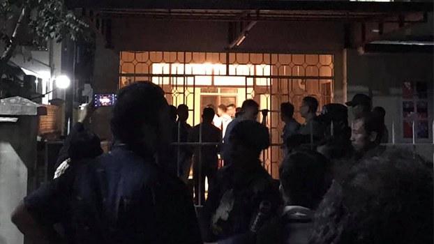 လှိုင်သာယာမြို့နယ် F.M.I City မှာရှိတဲ့ တရုတ်နိုင်ငံသားတွေနေတဲ့အိမ်ကို ၂၀၁၉ ဒီဇင်ဘာ ၈ ရက်နေ့ညက တွေ့ရစဉ်