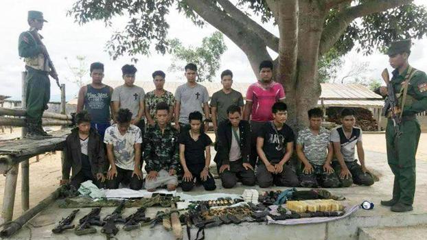 မြန်မာနဲ့ ထိုင်းနိုင်ငံသားတွေပါဝင်တဲ့ မူးယစ်ဆေးဝါး ကုန်သွယ်သူတွေကို ၂ဝ၁၉ သြဂုတ် ၂၆ ရက်နေ့က ဝ တပ်ဖွဲ့ ဖမ်းဆီးခဲ့စဉ်