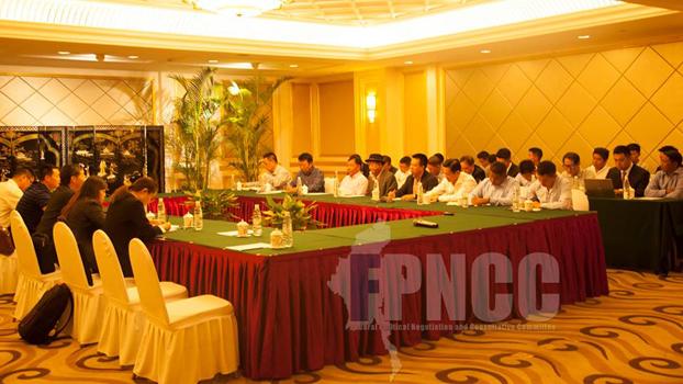 FPNCC အဖွဲ့က ကိုယ်စားလှယ်တွေနဲ့ တရုတ်အာရှရေးရာ အထူးကိုယ်စားလှယ် မစ္စတာဆွန်ကော်ရှန်းတို့  တရုတ်ပြည် ကူမင်းမြို့မှာ ၂ဝ၁၈ မေလ ၁၈ ရက်နေ့က တွေ့ဆုံစဉ်