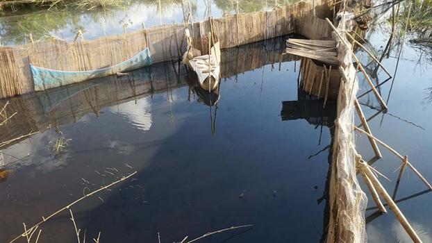 ကရင်ပြည်နယ်၊ ဘားအံမြို့နယ်ထဲက ရေမည်းနေတဲ့နေရာကို တွေ့ရစဉ်