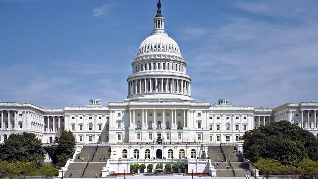 အမေရိကန်ပြည်ထောင်စု ဝါရှင်တန်ဒီစီမြို့တော်ရှိ လွှတ်တော်အဆောက်အအုံ။