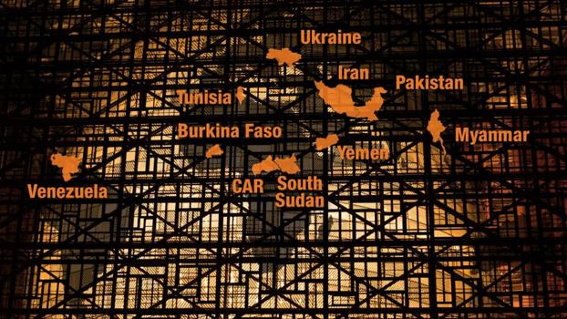 ICG အဖွဲ့က ထုတ်ပြန်ထားတဲ့ အန္တရာယ်နဲ့ ရင်ဆိုင်နေရတဲ့ ကမ္ဘာ့ ၁၀ နိုင်ငံကို တွေ့ရစဉ်
