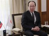 ဂျပန် သံအမတ်ကြီး အီချီရို မာရုယာမားကို  ၂၀၁၉ ဒီဇင်ဘာ ၂၆ ရက်နေ့က တွေ့ရစဉ်