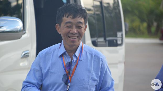 KIO ဗိုလ်ချုပ် ဂွန်မော် ကို ၂ဝ၁၈ ခုနှစ် ဇူလိုင်လ ၁၂ ရက်နေ့က တွေ့ရစဉ်