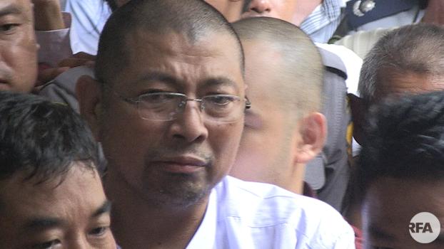 ဦးပါမောက္ခ ကို ၂၀၁၇ ခုနှစ်၊ နိုဝင်ဘာလ ၁၄ ရက်နေ့က ကမာရွတ်မြို့နယ် တရားရုံးမှာ ရုံးထုတ်ခဲ့စဉ်