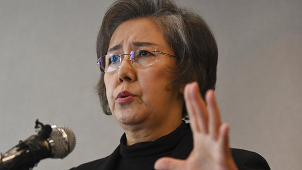 ကုလသမဂ္ဂရဲ့ မြန်မာနိုင်ငံဆိုင်ရာ လူ့အခွင့်အရေး စုံစမ်းစစ်ဆေးရေးမှူး Ms. Yanghee Lee ကို တွေ့ရစဉ်