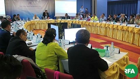 NCA လက်မှတ်ရေးထိုးထားတဲ့    တိုင်းရင်းသားလက်နက်ကိုင် ၁၀ ဖွဲ့ရဲ့  ငြိမ်းချမ်းရေးလုပ်ငန်းစဉ် ဦးဆောင်အဖွဲ့ PPST အစည်းအဝေးကို ထိုင်းနိုင်ငံ ချင်းမိုင်မြို့မှာ ၂၀၁၉ အောက်တိုဘာ ၁၀ ရက်နေ့ကျင်းပစဉ်
