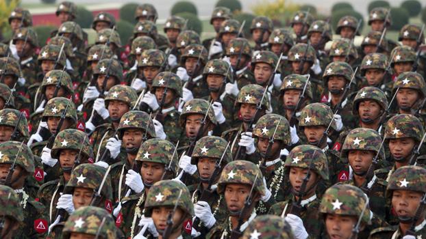 (၇၄)နှစ်မြောက် တပ်မတော်နေ့ စစ်ရေးပြအခမ်းအနား